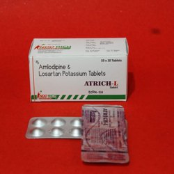 Amlodipine And Losartan Potassium Tablets