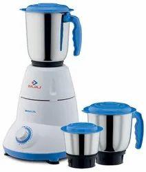 500 Watt Bajaj Bravo Mixer Grinder, For Kitchen, Capacity: 3