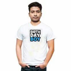 Birthday Boy Printed T shirt For Men