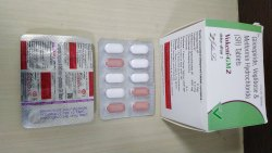 Glimepiride 2 Mg+Metformin 500+Voglibose 0.2 Mg