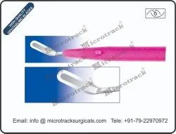 Crescent Bevel Down Ophthalmic Micro Surgical Blade