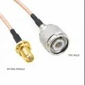 Coaxial RG316 Flexible Cable with RP-SMA Female Jack to TNC Male Plug Connectors