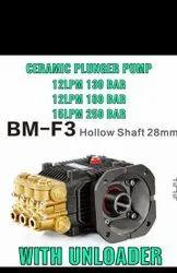 High Pressure Ceramic Plunger Pump with unloader