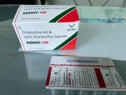 Asdoxy-100 Doxycycline 100mg Capsule