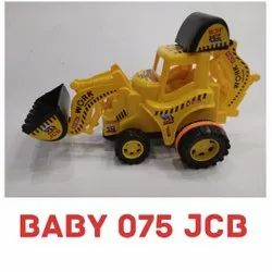 Plastic Yellow and Black 075 Baby JCB Construction Toy, For Kids Playing