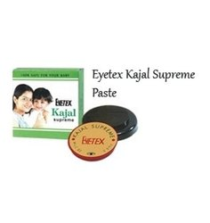 Black Eyetex Kajal Supreme Paste, Packaging Size: Box