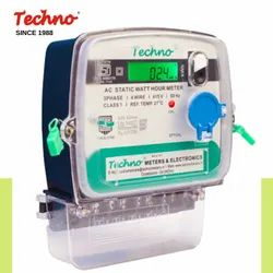 THREE PHASE TECHNO ENERGY METER, Model Name/Number: Tmcb0 13 M, 3*240