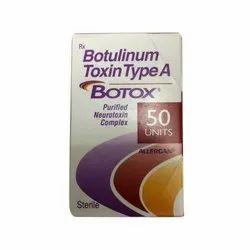 Botulinum Botox Injections, 50 Unit