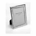 Groovy Design Silver Photo Frame,Color-Silver, Size-6X8