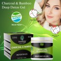 Charcoal Bamboo Deep Detox Gel