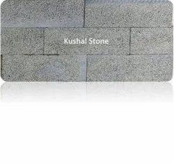 Grey Basalt Stone Tile - Bush Hammered Finish, Size: Medium, Thickness: 20 Mm