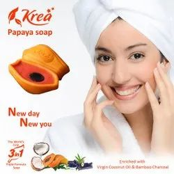 Krea Papaya 3 In 1 Soap