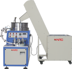Automatic Three Phase NTC Plastic Bottle Cap Slitting Machine