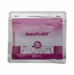 Ketoprofen Ketoplast, Zuventus Healthcare Ltd, Non Prescription