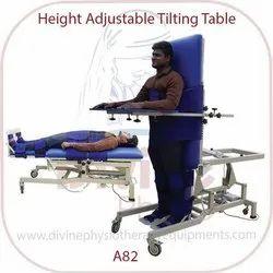 Height Adjustable Tilting Table