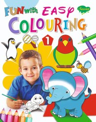 Fun with Easy Colouring 4 Different Books
