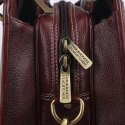 Hammonds Flycatcher Genuine Leather Brown Laptop Messenger Bag