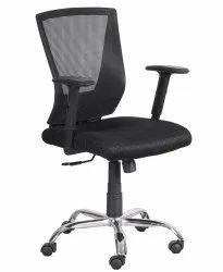 Mid Back Mesh Office Chair Black (VJ-2017)