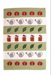 矩形纯棉厨房毛巾,尺寸:52 x 72