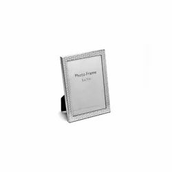 Knitted Design Silver Photo Frame, Size-5X7