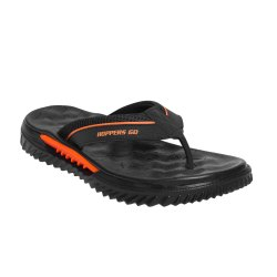Black Hoppers Go Bodysurfer Slippers