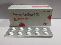 Cefpodoxime Proxetil Dispersible 100mg Tablets