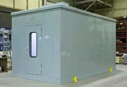 Steel Powder Coating Booth, Diesel, Automation Grade: Semi-Automatic