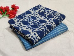 Indigo Print Cotton Fabric