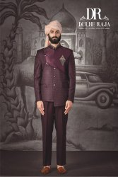 Dulhe Raja Silk Jodhpuri Suit