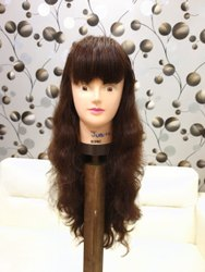 Beautiful Indian Human Hair Wigs For Women And Girl Cheveux Meche