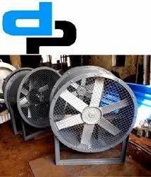 Industrial Man Tubular Fan