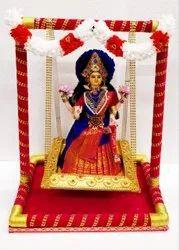 Lakshmi Handmade Doll With Jhula