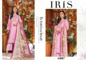 Iris Vol-10 Pakistani Style Karachi Print Salwar Suits Catalog