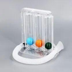 Three Ball Incentive Spirometer