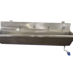 4 Tap Wall Mounted Sink Unit