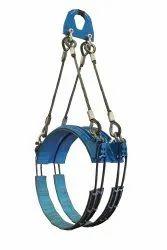 Steel Lined Choker Belt Double Loop