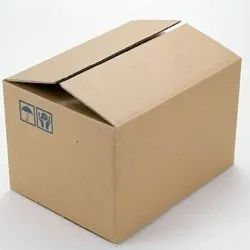 Brown Rectangular 5 Ply Corrugated Packaging Box, Size(LXWXH)(Inches): 18 X 12 X 12 Inch