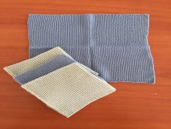 GOTS Certified Organic Cotton Knitted Dishcloth, Dish Towel Set