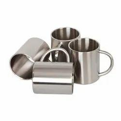 Stainless Steel Mug Set