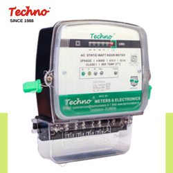 Techno Three Phase Electric Meter, Model Number/Name: Tmcb006, 3*240