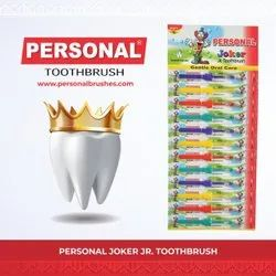 Hard Plastic Personal Joker Toothbrush, For Cleaning Teeth, Packaging Size: Set Of 12