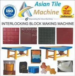 Manual Interlocking Block Making Machine