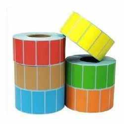 Color Label, For Box, Packaging Type: Roll