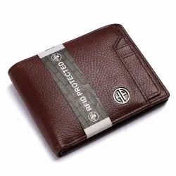 Hammonds Flycatcher RFID Protected Leather Wallet for Men