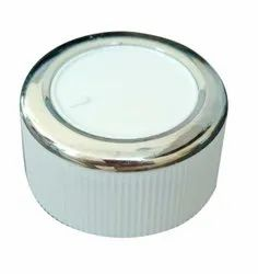 Chrome Finished Classic Grooved Round Cooler Switch Knob