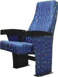 BLUE PUSH BACK AUDITORIUM CHAIR ARI-705