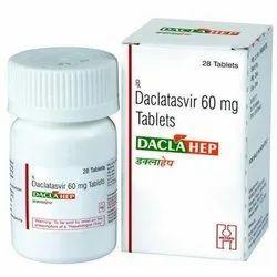 Daclahep Daclatasvir 60 mg Tablet