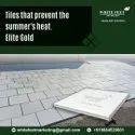 Heat Reflective Snow white - White Feet Tile - Silverplus