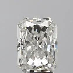 White Radiant Shape Diamond Size-3.01 Color-H Purity-VS1, Size: 3.01 Ct