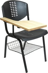 PVC Writing Pad Chair
